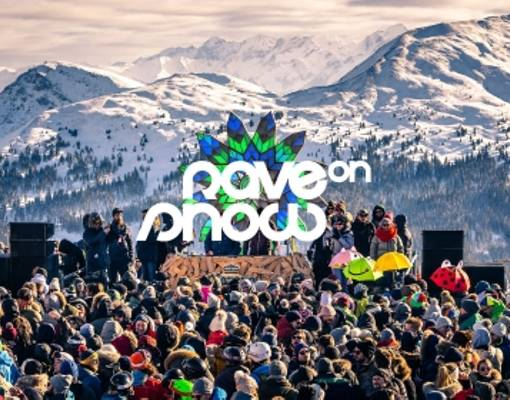 Rave On Snow | Weekend Logo