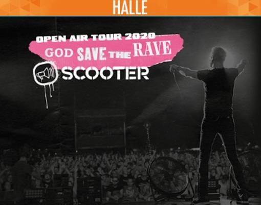 Scooter | Halle Logo